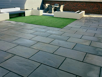 Patio installers in Brockhall Village